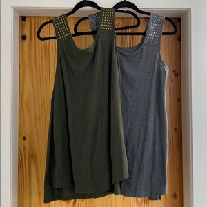 Lot of Two! Maternity tunics / sleeveless tops